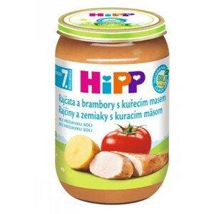 HiPP Príkrm Rajčiny zemiaky a kura Junior menu 220 g