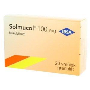 Solmucol 100mg granulát 20x 5g