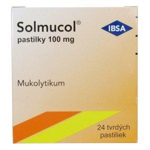 Solmucol 100mg 24 pastiliek