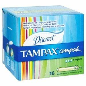 TAMPAX Compak Super s aplikátorom 1x16 ks