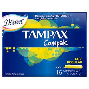 TAMPAX Compak Regular s aplikátorom 1x16 ks