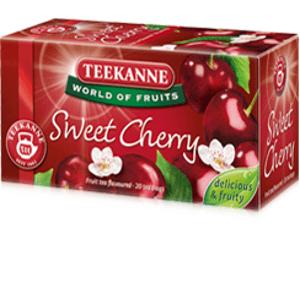 Teekanne Wof Sweet Cherry ovocno-bylinný čaj 20x2,5g