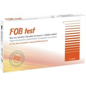 FOB TEST na okultné krvácanie