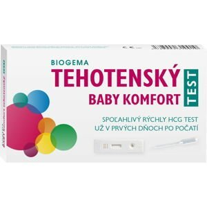 BABY TEST KOMFORT tehotenský test s pipetou 1 ks