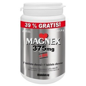 Magnex 375 mg + B6 250 tbl