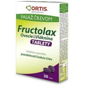 Fructolax Ovocie a vláknina TABLETY 30ks