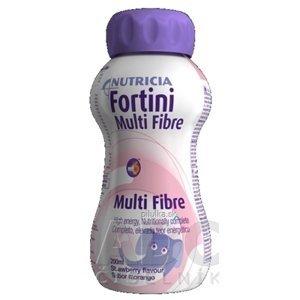 Fortini Multi Fibre pre deti výživa s jahodovou príchuťou 200 ml