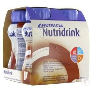 NUTRIDRINK čokoládová príchuť 4x200 ml