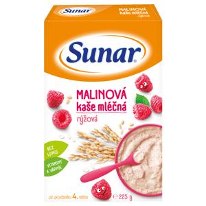 Sunar Malinová kaša mliečna rýžová 225g