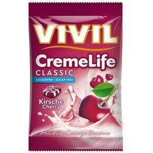 VIVIL Bonbons Creme Life Classic drops s višňovo-smotanovou príchuťou, bez cukru 110 g