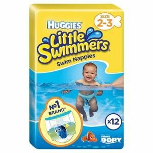 HUGGIES Little swimmers,plavecké plienky 2/3 3-8kg ,12ks
