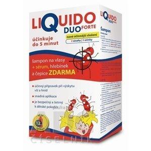 LiQuido DUO FORTE proti všiam šampón 200 ml + zadarmo
