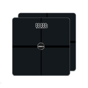 UMAX váha Smart Scale US30HRC múdra osobná váha - bluetooth, maximálna záťaž 180kg