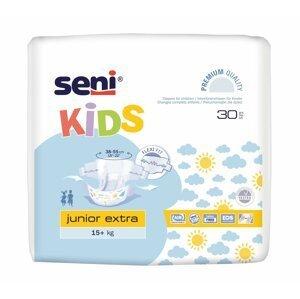 Seni KIDS junior extra plienkové nohavičky, 15-30 kg, savosť 1100 ml, 30 ks