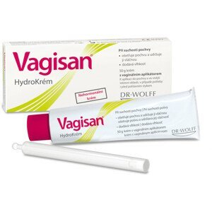 VAGISAN HydroKrém s vaginálnym aplikátorom 50g