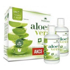 Pharma Activ Aloe Live šťava z aloe 99,7% 2x1000ml