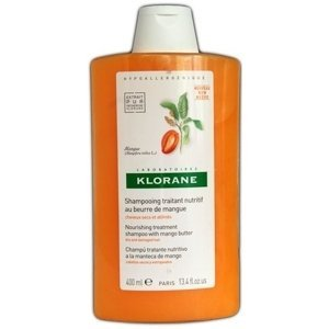 KLORANE SHAMPOOING AU BEURRE DE MANGUE šampón s mangovým maslom na suché vlasy 400 ml