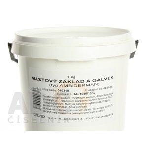 MASŤOVÝ ZÁKLAD A - GALVEX ung 1x1000 g