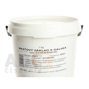 MASŤOVÝ ZÁKLAD S - GALVEX ung 1x1000 g