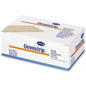 OMNISTRIP hypoalergénne prúžky na stiahnutie rany50x10 ks