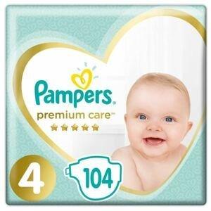Pampers Premium Care 4 Maxi (9-14kg) 104ks