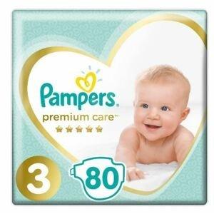 Pampers Premium Care S3 80ks, 6-10kg