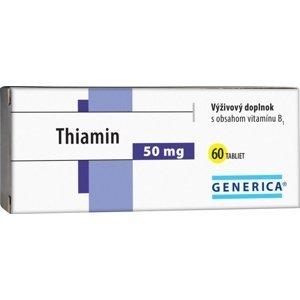 GENERICA Thiamin 50 mg 60 tbl