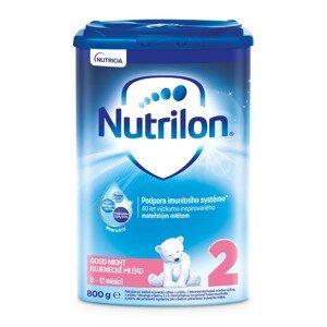 Nutrilon 2 Pronutra Good Night mliečna výživa v prášku na dobrú noc 800g