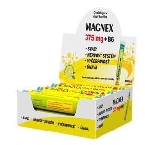 Magnex 375 mg + B6 effervescent Lemon Displej 12x20 tbl