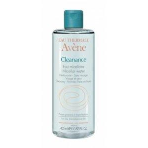 AVENE CLEANANCE EAU MICELLAIRE micelárna voda pre mastnú a aknóznu pleť 400 ml