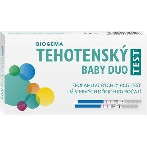BABY TEST DUO tehotenský test 2 ks