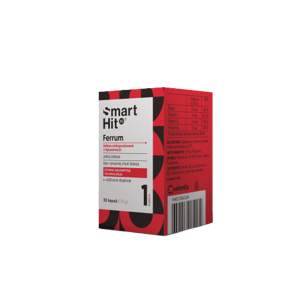 EXP 30.4.2021 SmartHit IV Ferrum 30 kapsúl
