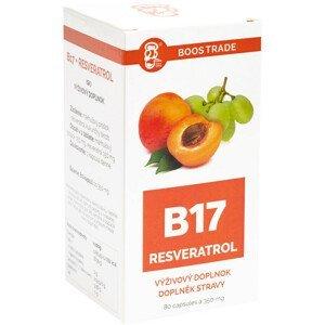 Vitamínový doplnok s obsahom Resveratrol a vitamínu B17 80 kapsúl