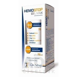 HEMOSTOP GÉL MAX - DA VINCI stop hemoroidom 75 ml