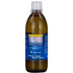 Koloidné striebro Ag100 hustota 10 ppm 500 ml
