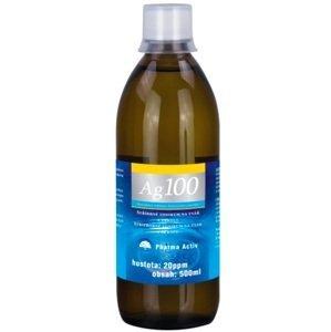 Koloidné striebro Ag100 hustota 20 ppm 500 ml