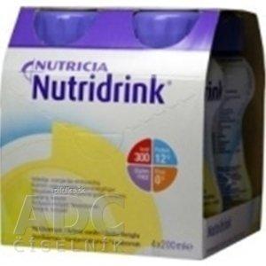NUTRIDRINK banánová príchuť 4x200 ml