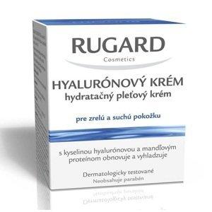 RUGARD HYALURÓNOVÝ KRÉM hydratačný pleťový krém pre zrelú a suchú pokožku, 50 ml