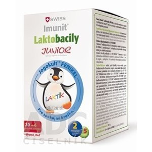 SWISS Imunit LAKTOBACILY JUNIOR tbl 30+6 zadarmo