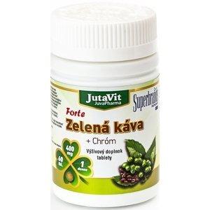 JutaVit Zelená káva Forte + Chróm 60 tbl