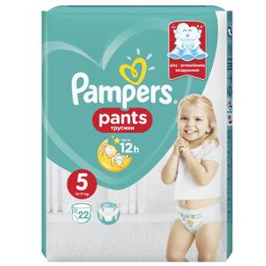 Pampers Pants Junior 5 12-17kg 22ks