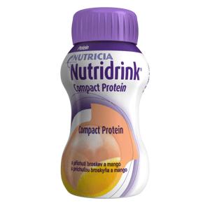 NUTRIDRINK COMPACT PROTEIN s príchuťou broskyňa a mango 24x125 ml