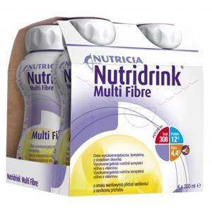 NUTRIDRINK MULTIFIBRE vanilková príchuť 4x200ml