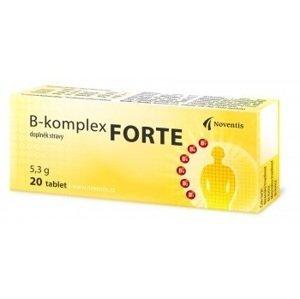 Noventis B-komplex FORTE 20 tbl