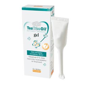 Dr. Müller Tea Tree Oil GÉL vaginálny, tuba s aplikátorom 7x7,5 ml