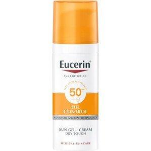 EUCERIN SUN Ochranný krémový gél na opaľovanie na tvár OIL CONTROL SPF 50+