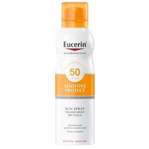 EUCERIN SUN Transparentný sprej na opaľovanie DRY TOUCH SPF 50