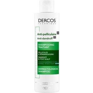 Vichy Dercos Anti-Pelliculaire - Šampón proti lupinám na mastné vlasy 200ml