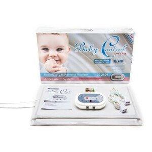 Monitor dychu Baby Control BC-220i, pre dvojčatá s 2x1 senzorovými podložkami