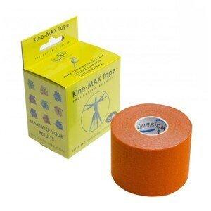 Kine-MAX Tape Super-Pro Cotton Kinesiology oranžová tejpovacia páska 5cm x 5m